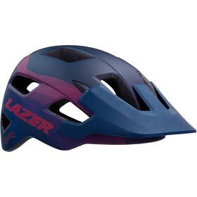 Lazer Chiru Helm matte blue pink